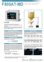 F805AT-MD เป็น All-in-one Weighing Indicator โมเดลแบบ Graphic display