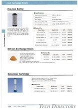 Sodick Ion Exchange Resin for Wire Cut _Consumables Part for Wire Cut_เรซินไวคัดโซดิก_วัสดุสิ้นเปลืองของเครื่องไวคัดโซดิก