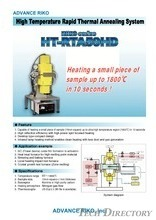High Temperature Rapid Thermal Annealing System HT-RTA59HD