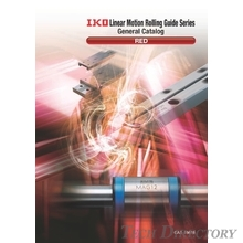 IKO Linear Motion Rolling Guide (Cross Roller Way, Ball Spline) แคตตาล็อครวมรุ่น Linear Series 『RED』