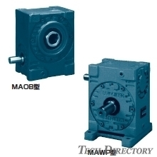 Worm speed reduction gear MA model