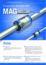 MAG · LSAG · LSB · LS Ball Spline