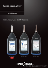 Sound Level Meter『LA-7000 series』