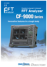 FFT Analyzer『CF-9000 Series』