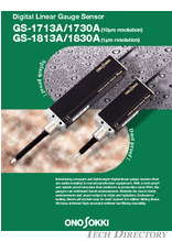 "Digital Linear Gauge Sensor""GS-1713A/1730A""""GS-1813A/1830A"""