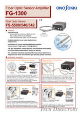 "Fiber Optic Sensor Amplifier""FG-1300"""