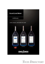 "Sound Level Meter ""LA-7000 series"""
