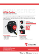 CSW-Series COMBINATION SWITCH