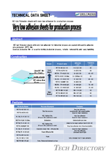 Very low adhesion sheets for production process / NICHIEI KAKOH