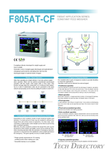 F805AT-CF เป็น All-in-one Weighing Indicator โมเดลแบบ Graphic display