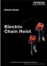 Chain hoists & Rope hoists[Hitachi Asia Thailand]