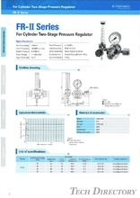 "For Cylinder Two-Stage Pressure Regulator ""FR-Ⅱ Series"""