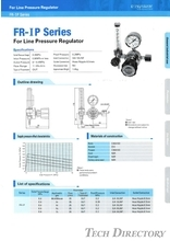 "For Line Pressure Regulator ""FR-IP Series"""