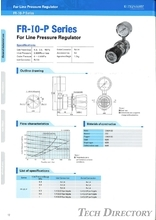 "For Line Pressure Regulator ""FR-I0-P Series"""