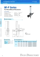 "For Panel Mount Flowmeter ""NF-P Series"""