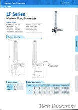 "Medium Flow,Flowmeter ""LF Series"""