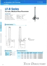 "For Line, Meduim Flow Flowmeter ""LF-B Series"""