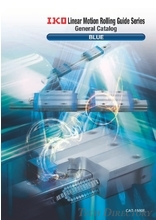 "【ENG】IKO THOMPSON Linear Motion Rolling Guide Series General Catalog ""BLUE"""