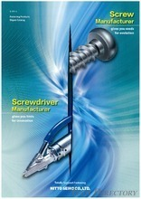 "Fastening Products Digest Catalog ""Screw Manufacturer"" / THAI NITTO SEIKO MACHINERY"