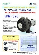 "Oil Free Scroll Vacuum Pump ""SDM Series"""
