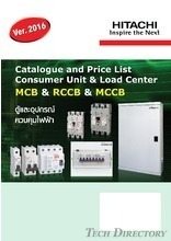 Hitachi Consumer Unit & Load Center