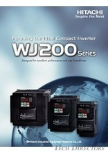 Hitachi Variable Frequency Drives (Inverter) WJ200 [ English ]