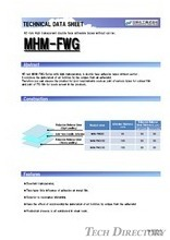 "NE-rak High transparent DATA double face adhesive tapes without carrier. ""MHM-FWG"""
