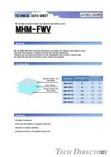 "NE-tak High transparent double face adhesive tapes without carrier. ""MHM-FWV"""