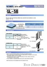 "Thin & Slim Type Ahdesive Tapes ""GL-5B"""