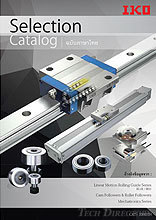 "【THAI】 IKO THOMPSON Linear Motion Rolling Guide Series Selection Catalog ""RED"" & ""BLUE"""