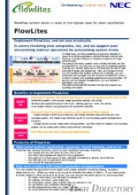Workflow system which is rated at the highest level for client satisfaction: FlowLites
