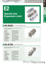 "In-Line Pressure Balanced type ""NK-8600"""