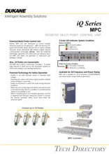 iQ Series MPC PATENTED MULTI-POINT CONTROL UNIT