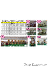 Holding Facilities (Press machine) TAKEDA INDUSTRY THAILAND