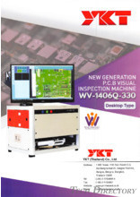 YKT (Thailand) Co.,Ltd_New Generation P.C.B Visual Inspection Machine
