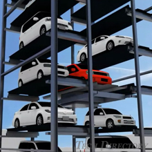 IHI Tower Parking System (Pallet Type)