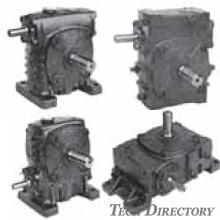 Worm speed reduction gear S.A model