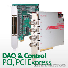 Data Acquisition(DAQ) & Control Device for PCI / PCI Express