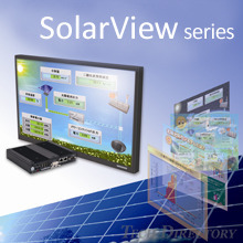 Solar power generation Measurement / Monitoring system Solar View series